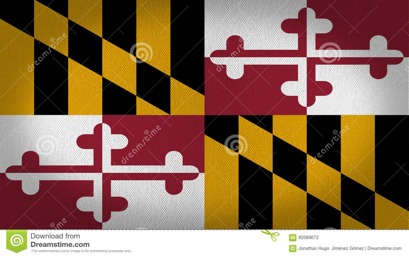 Drapeau du Maryland