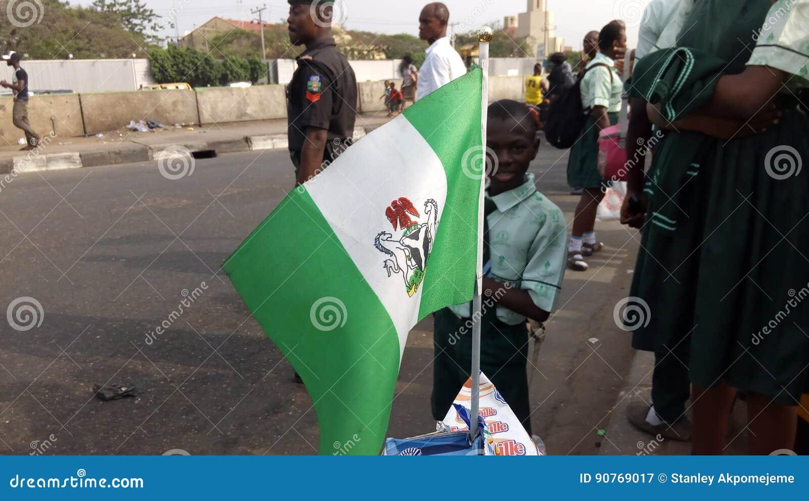 Drapeau du Nigéria
