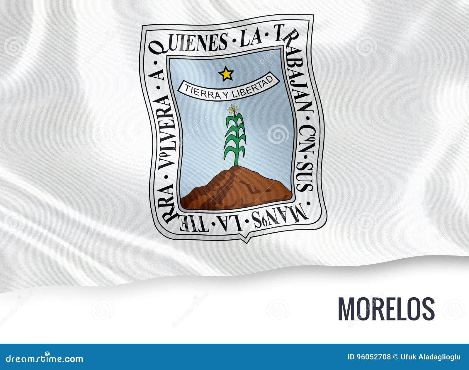 Drapeau mexicain de Morelos d état