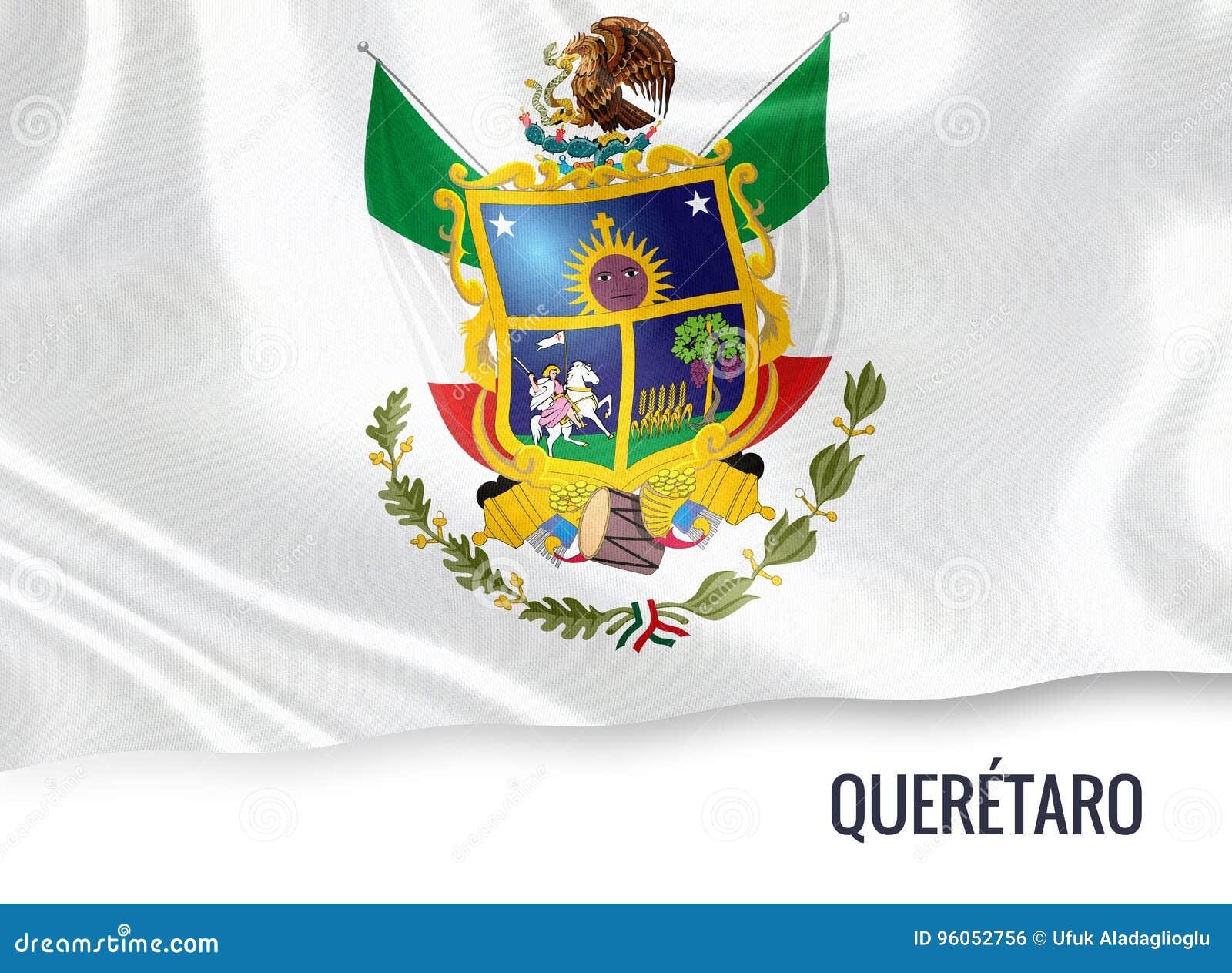 Drapeau mexicain de Queretaro d état