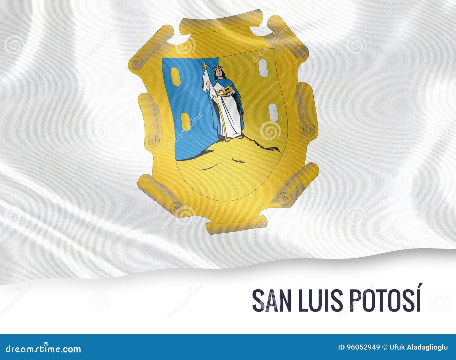 Drapeau mexicain de San Luis Potosi d état