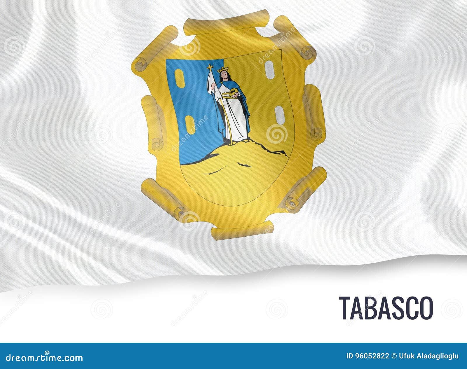 Drapeau mexicain de Tabasco d état