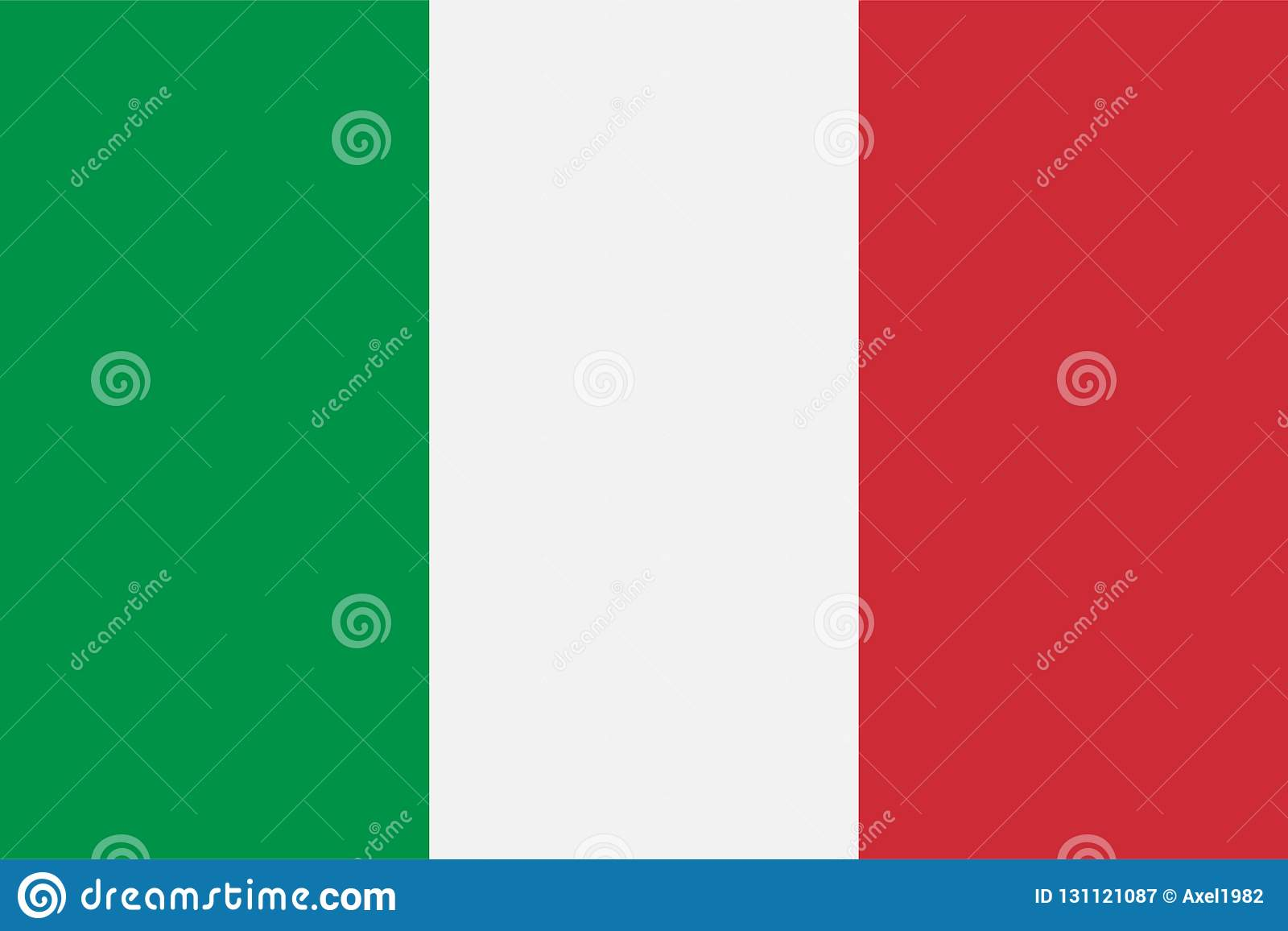 Drapeau national de l Italie