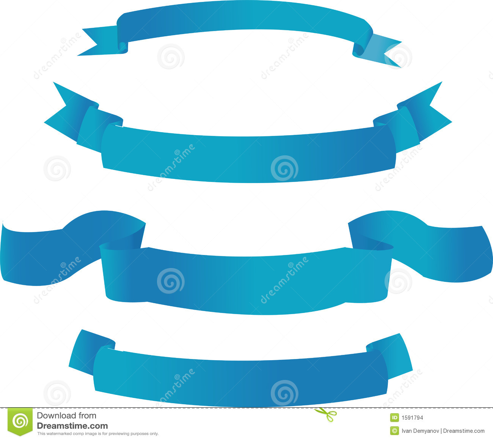 Drapeaux bleus