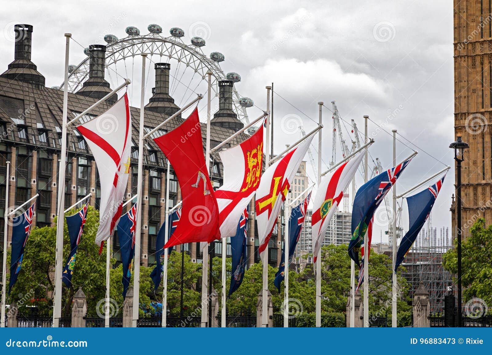 Drapeaux britanniques des territoires d outre-mer et des dépendances de couronne