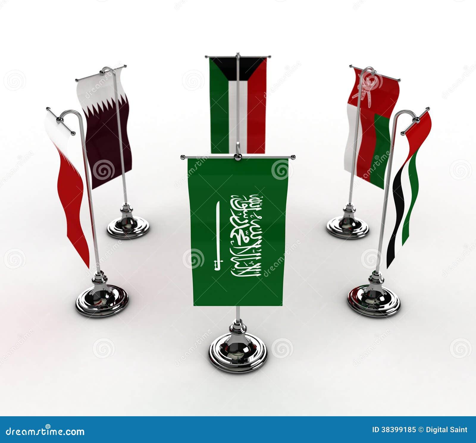 Drapeaux de GCC