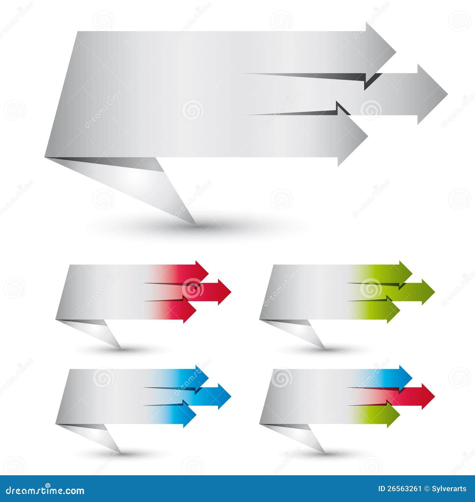 drapeaux de papier de type d 39 origami image stock image. Black Bedroom Furniture Sets. Home Design Ideas
