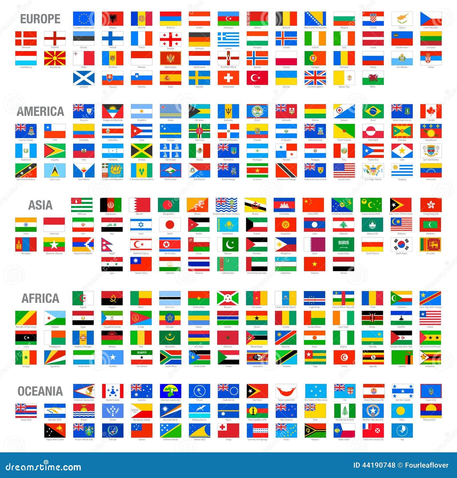 drapeau-de-tout-les-pays-du-monde