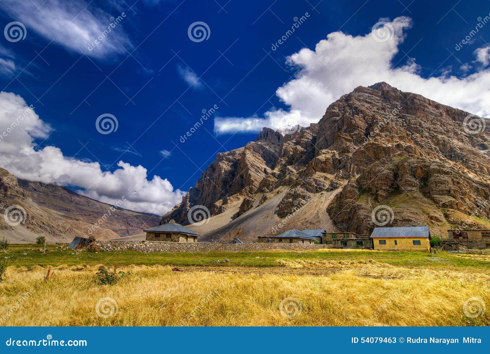 Drassdorp, Kargil, Ladakh, Jammu en Kashmir, India