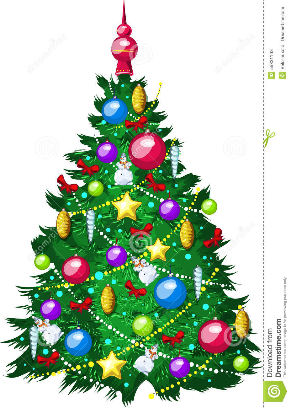 Uncategorized Christmas Tree Drawings Images draw beautiful christmas tree on white back stock illustration royalty free download tree