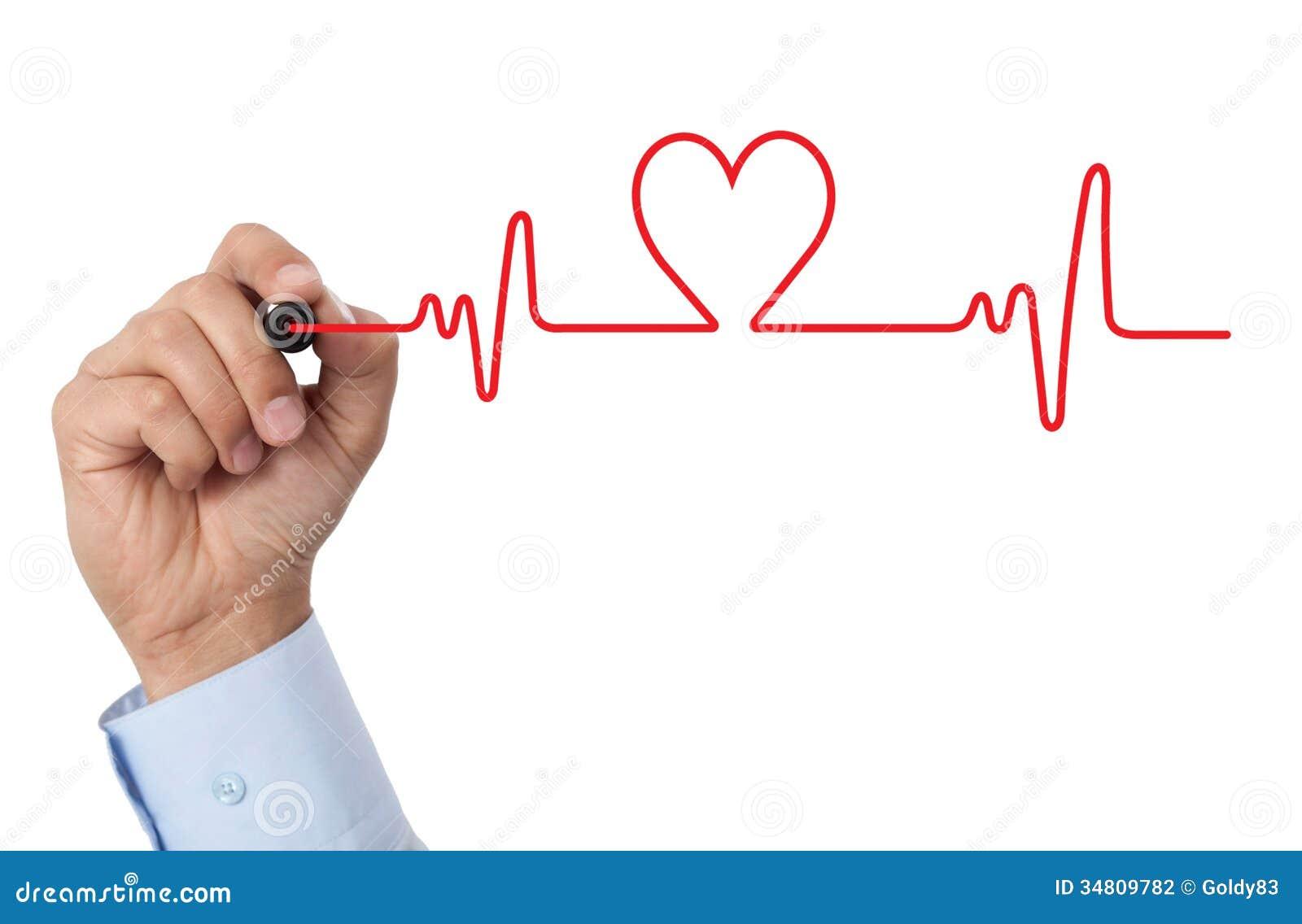 Draw a heart chart stock illustration illustration of health draw a heart chart ccuart Image collections