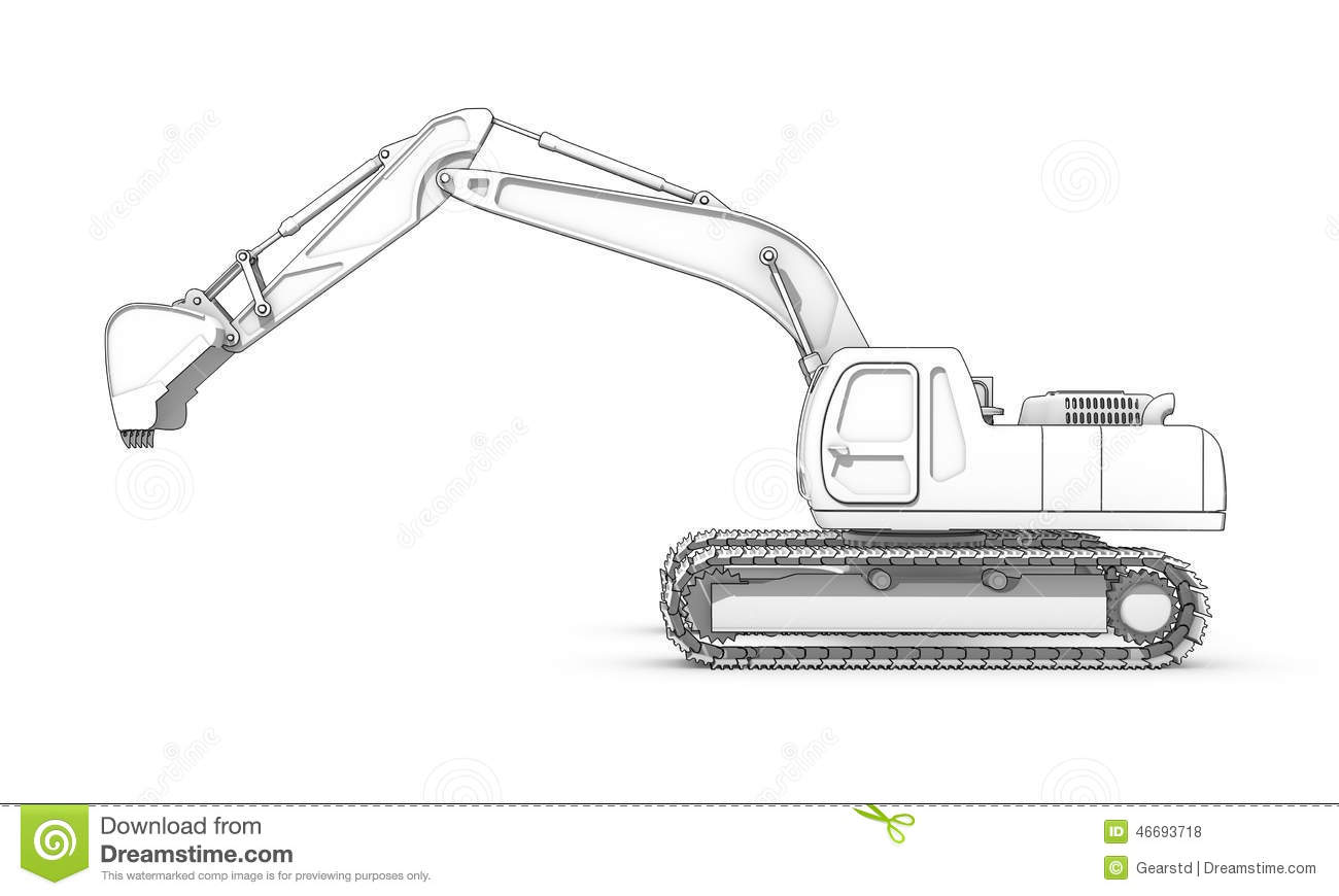 how to draw son of a digger