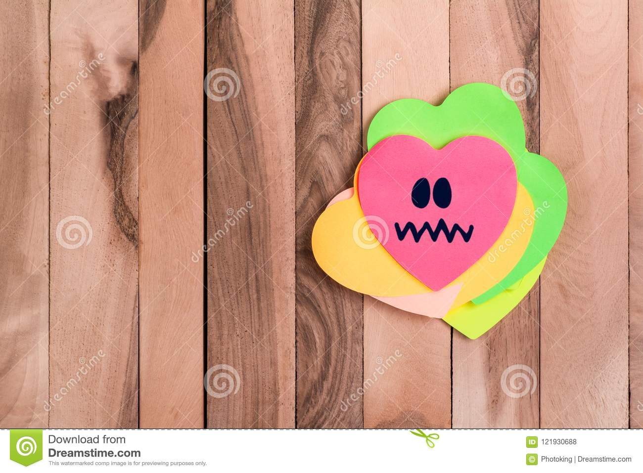Cute Heart Bored Emoji Stock Photo Image Of Decoration