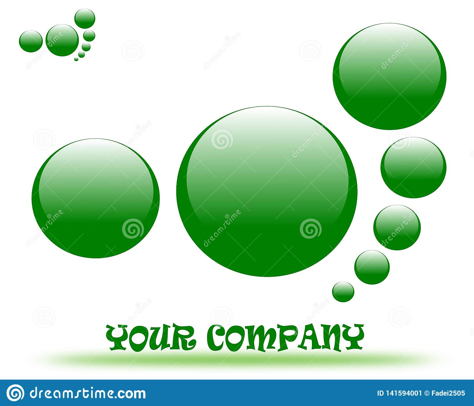 Drawing company logo.
