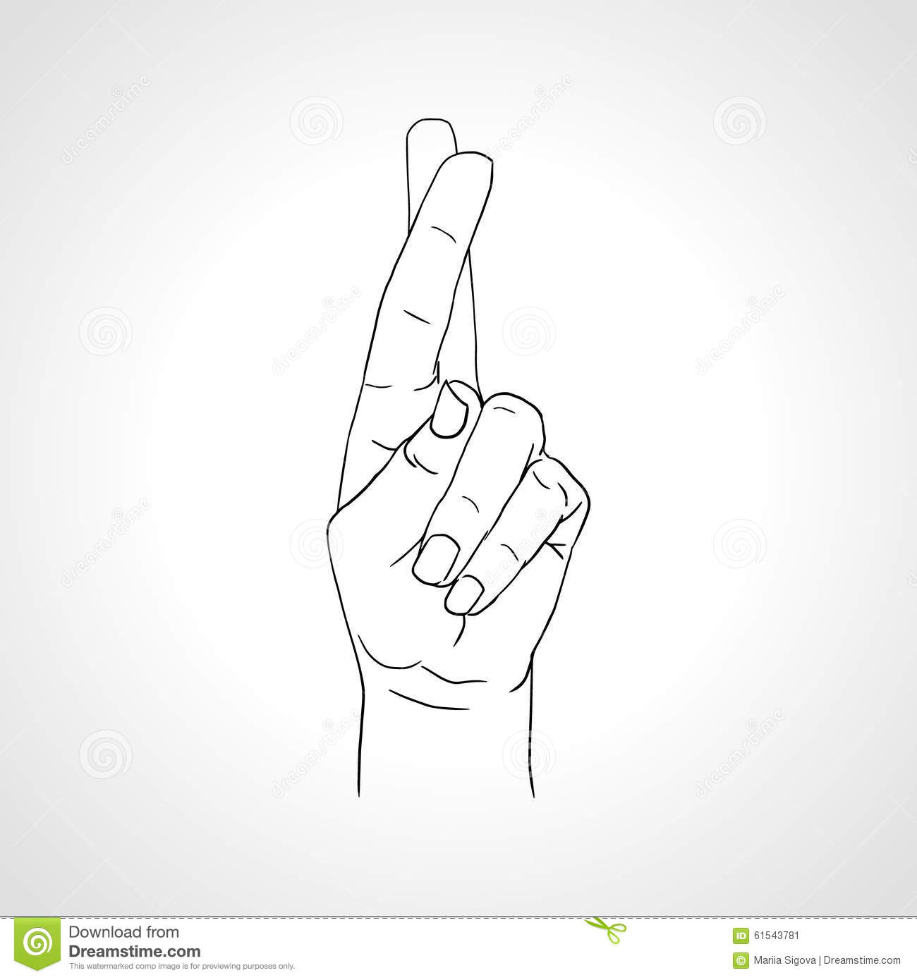 Free Clipart Fingers Crossed Keep Your Fingers Crossed, HD Png Download -  kindpng
