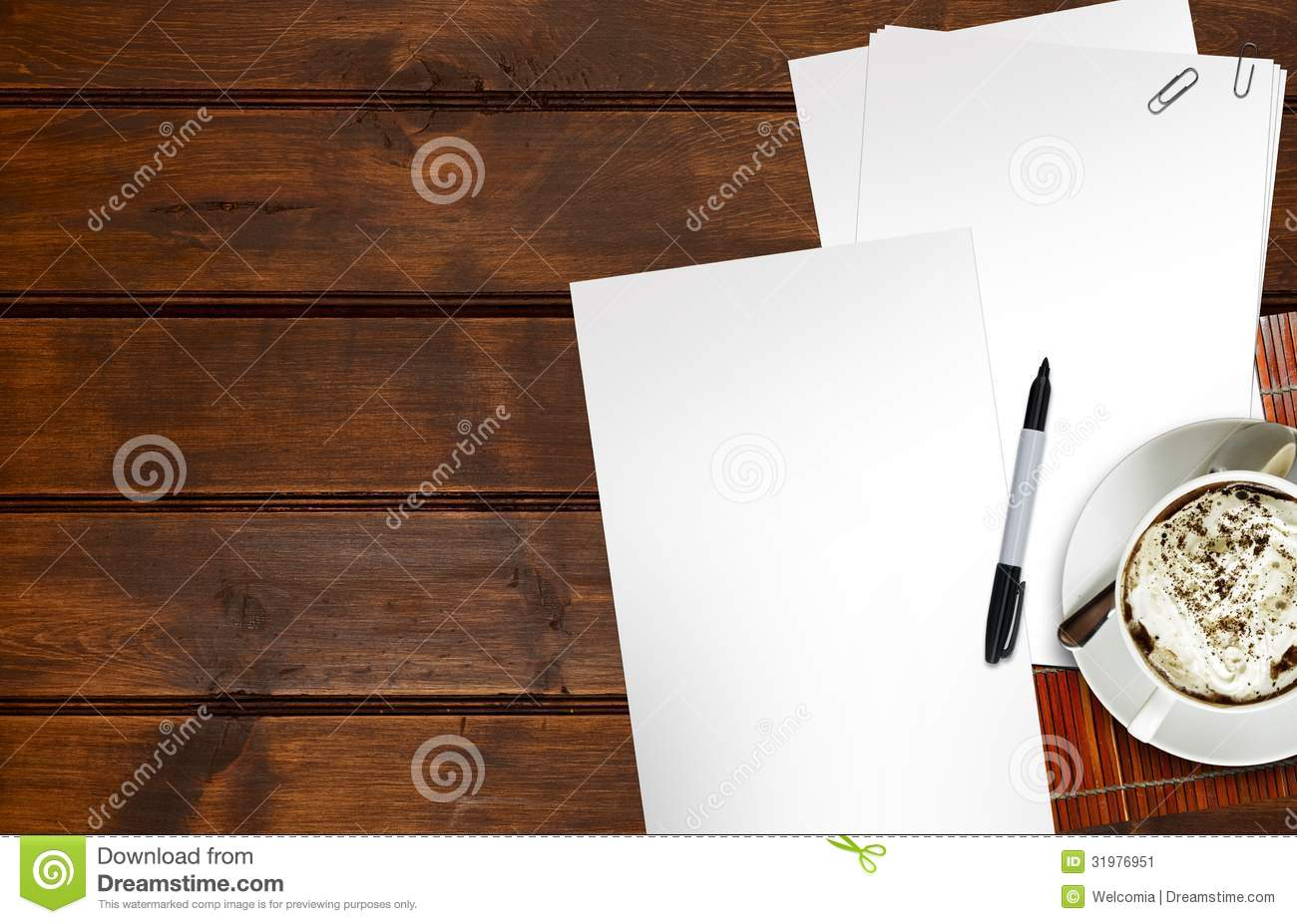 Drawing Ideas Stock Image Image Of Blank Write Scratch 31976951