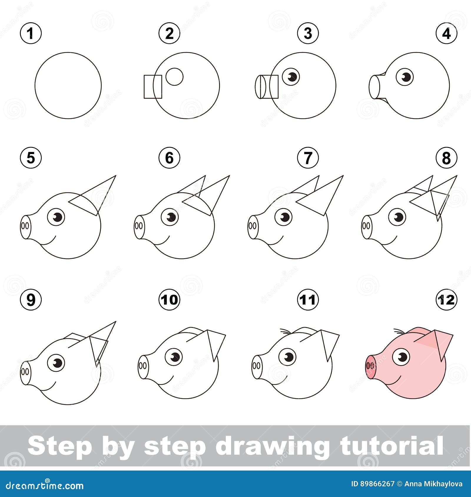 Drawing kid tutorial.