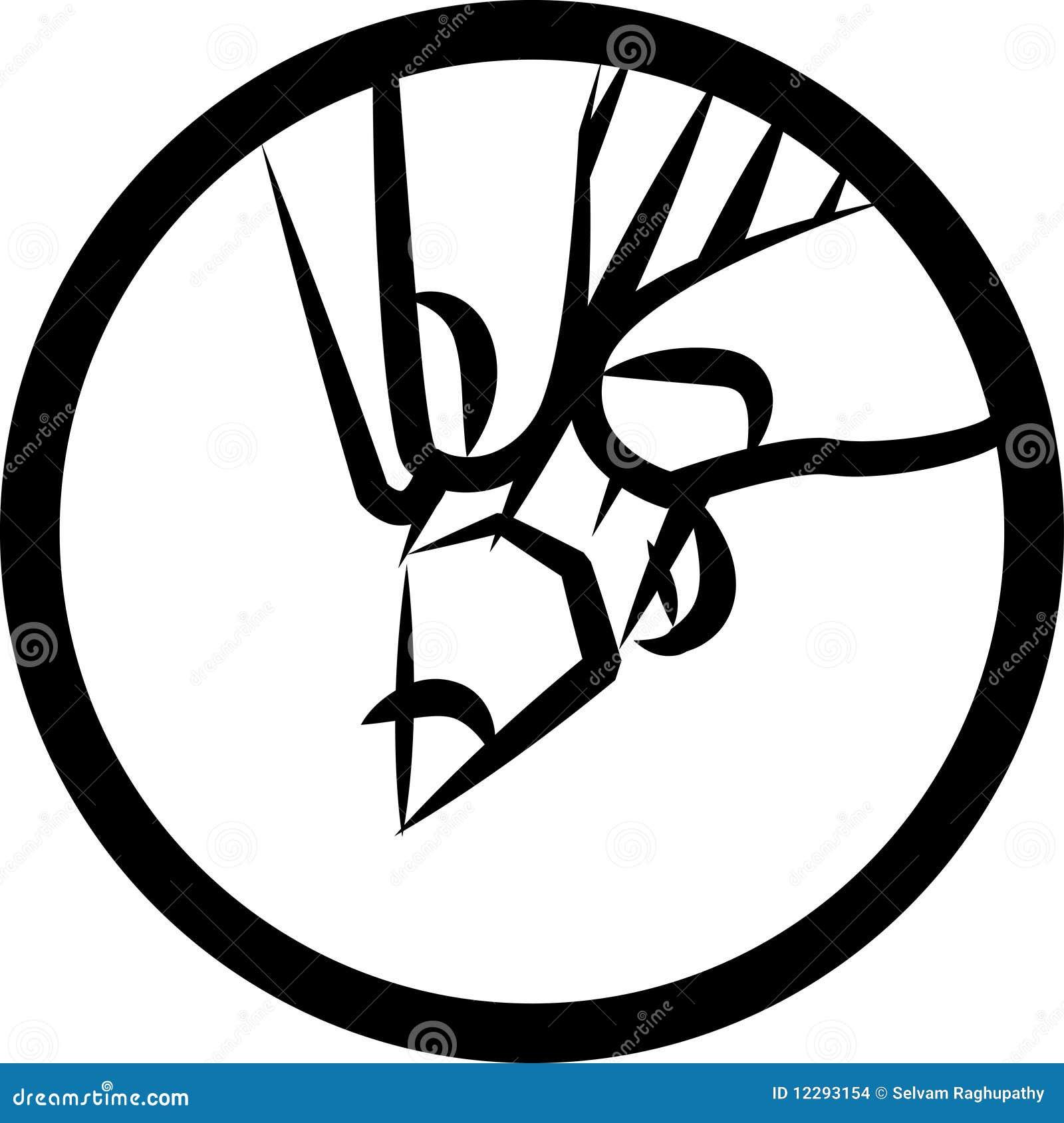 drawing logo stock vector illustration of logo fingers 12293154