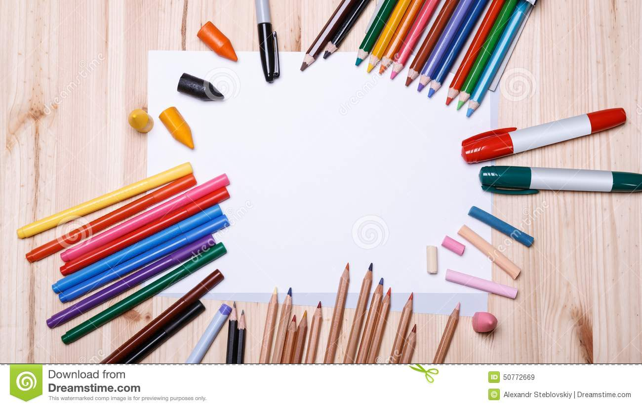 drawing tools architect drawing materials stock image image of brown desk education
