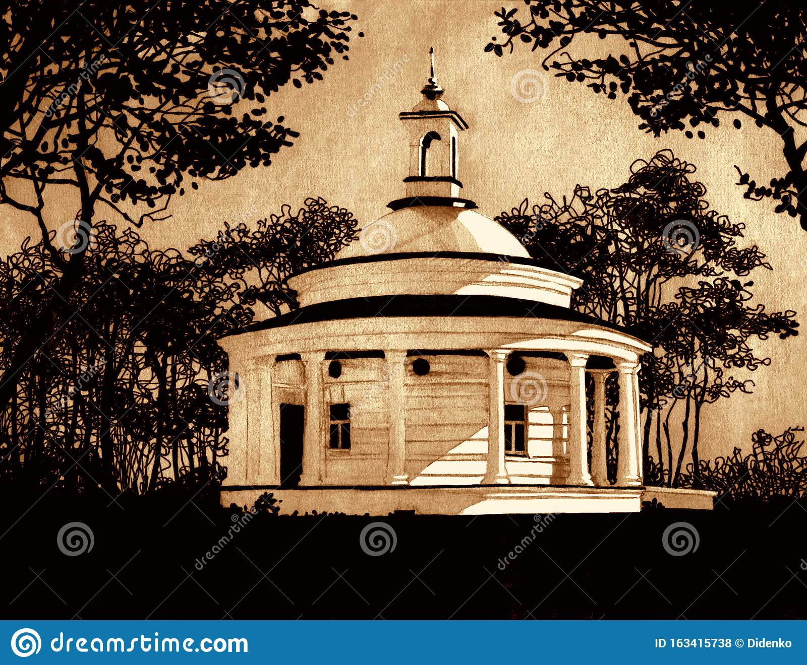 Pencil Sketch Scenery Photos Free Royalty Free Stock Photos From Dreamstime How to draw scenery of light and shadow by pencil sketch. https www dreamstime com drawing pen pencil askold s grave kiev st prince warrior askold s obsequie royal place scene kyiv black ink pen image163415738