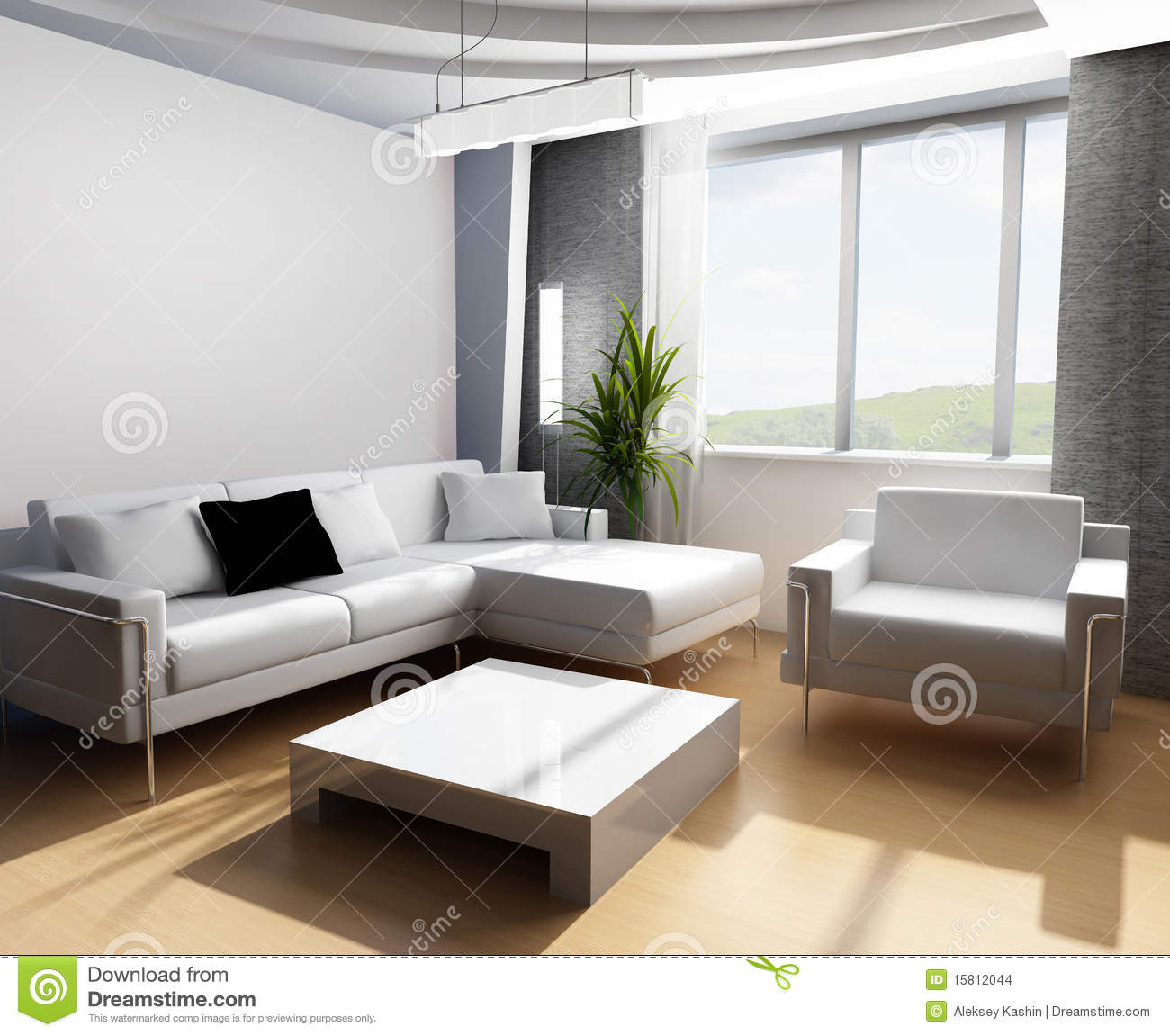 Drawing room 3d stock images image 15812044 for 3d bedroom drawing