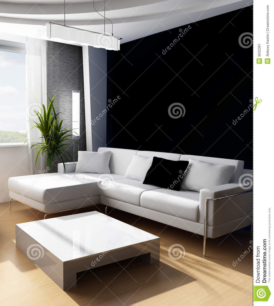 Drawing room 3d stock image image 9032381 for 3d bedroom drawing