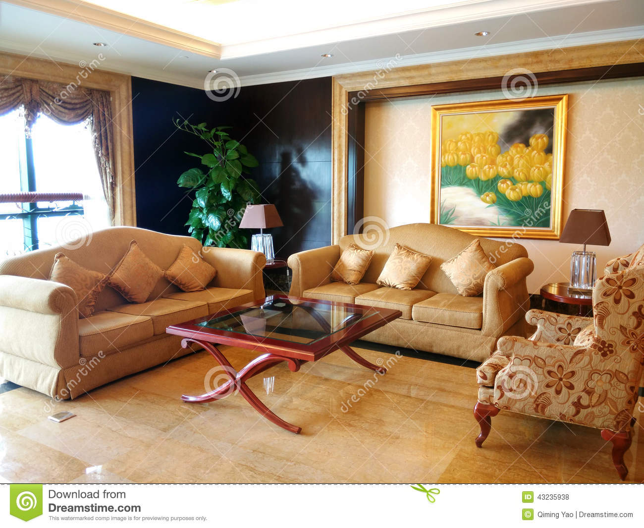 Drawing Room Stock Photo Image 43235938