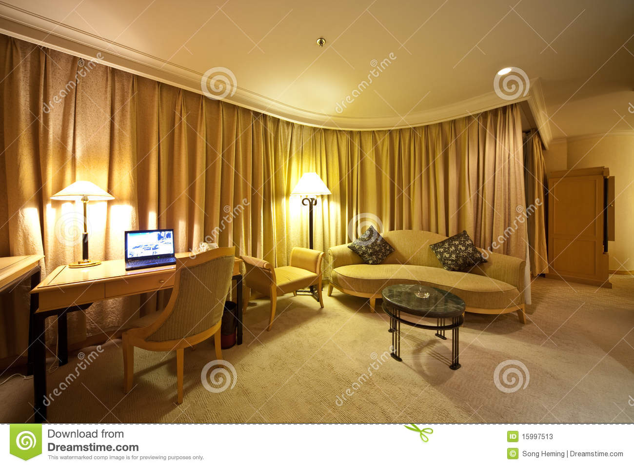 Drawing Room Of Hotel Stock Image Image Of House Luxury 15997513