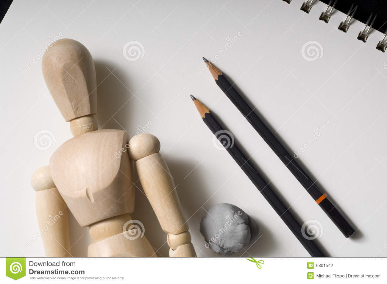 Drawing Supplies Stock Photography - Image: 6801542