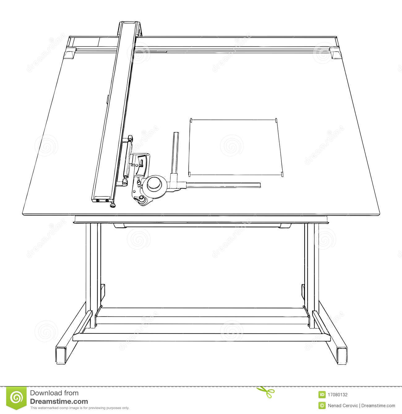 Architecture Drawing Table drawing table vector 02 stock photography - image: 17080132