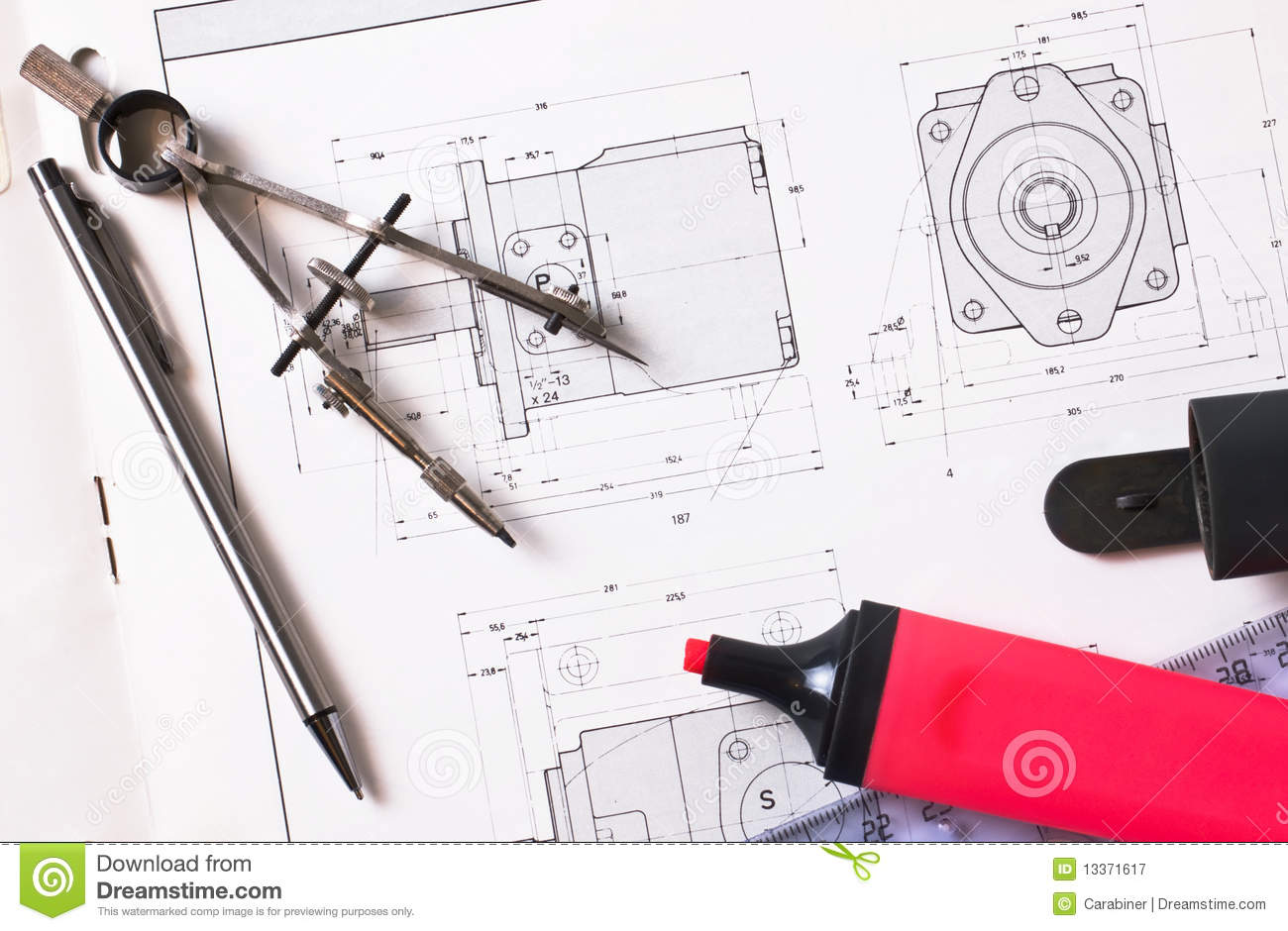 Drawing tools royalty free stock photography image 13371617 for Online drawing tool