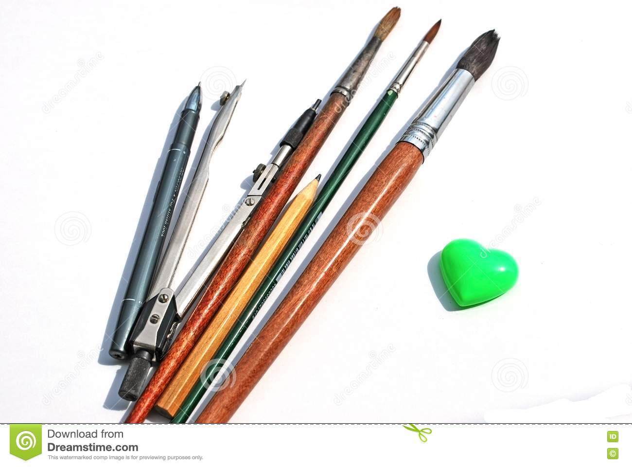 Drawing Tools Royalty Free Stock Photo Image 14479965