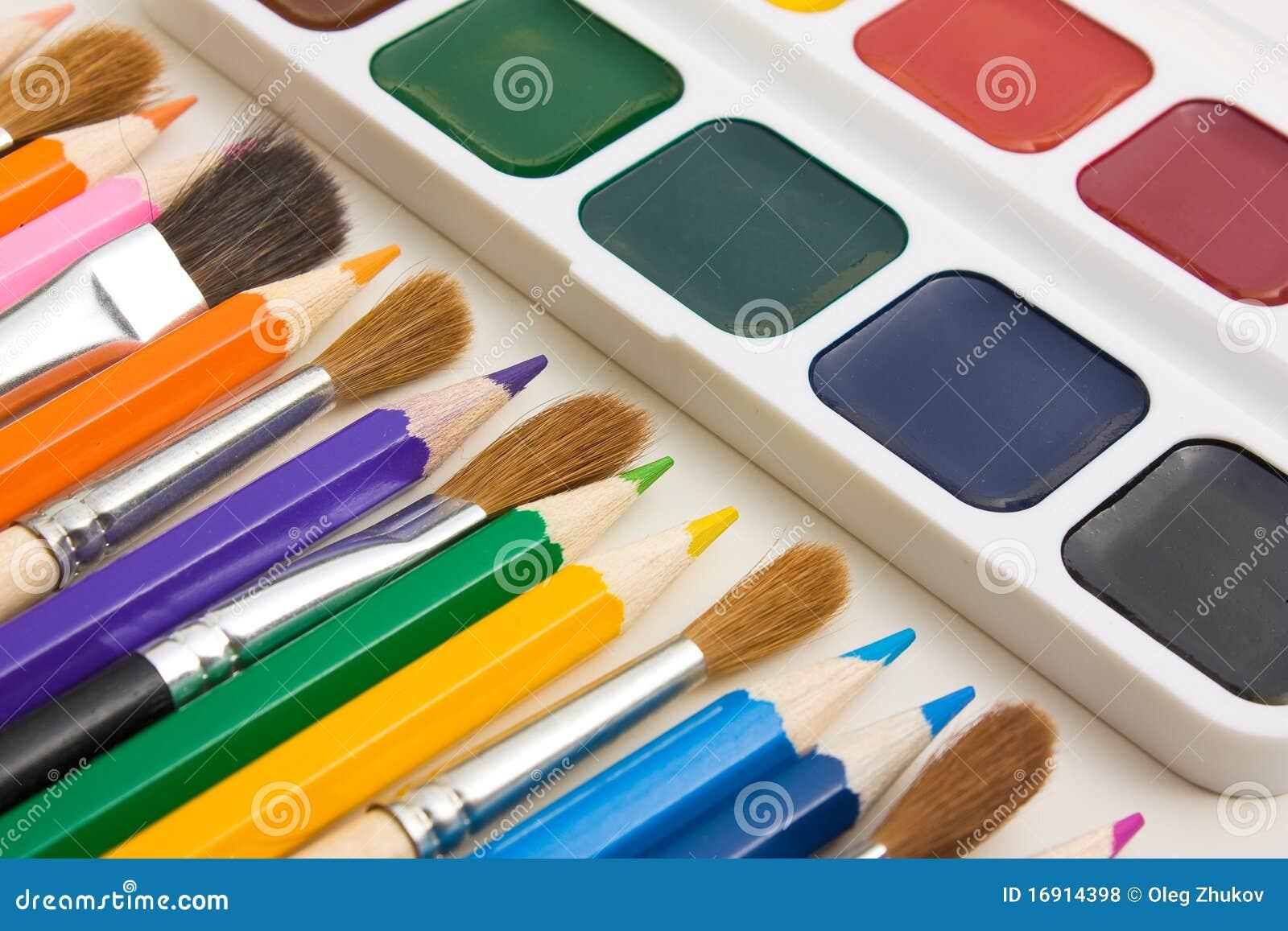 Drawing Tools Royalty Free Stock Photos Image 16914398