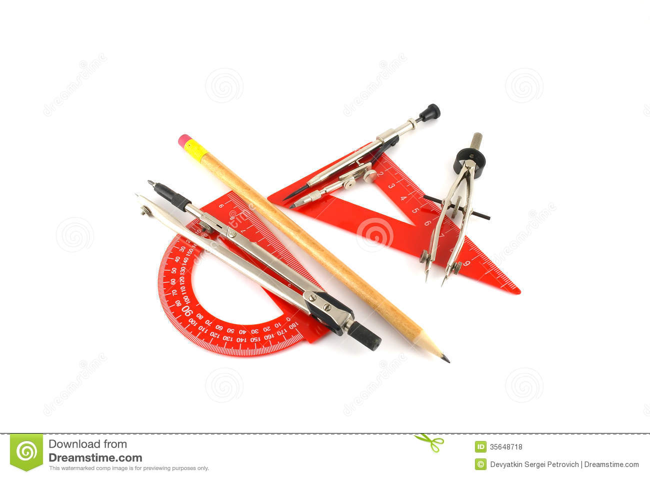 Drawing Tools Royalty Free Stock Photos Image 35648718