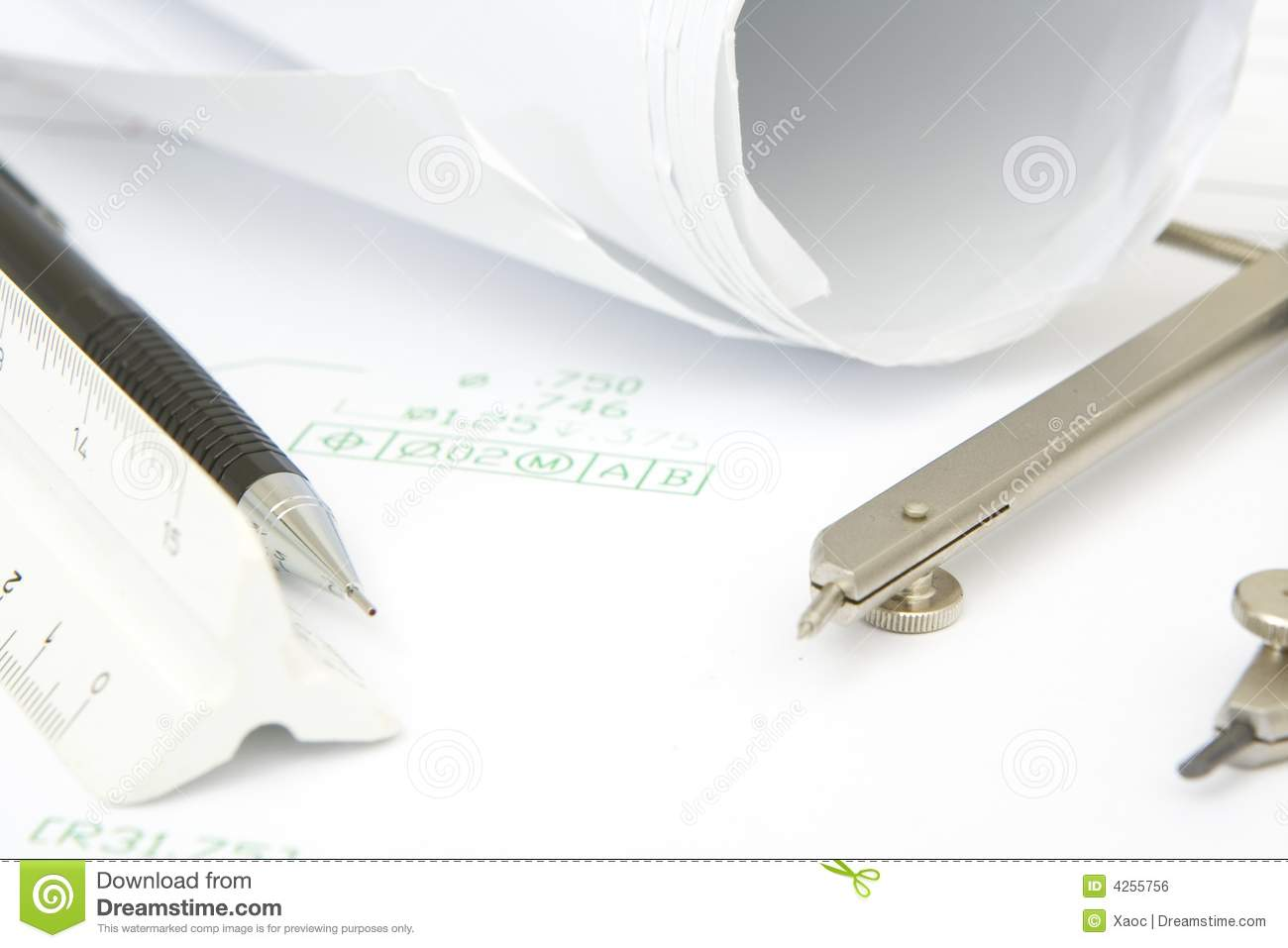 Drawing Tools Royalty Free Stock Image Image 4255756