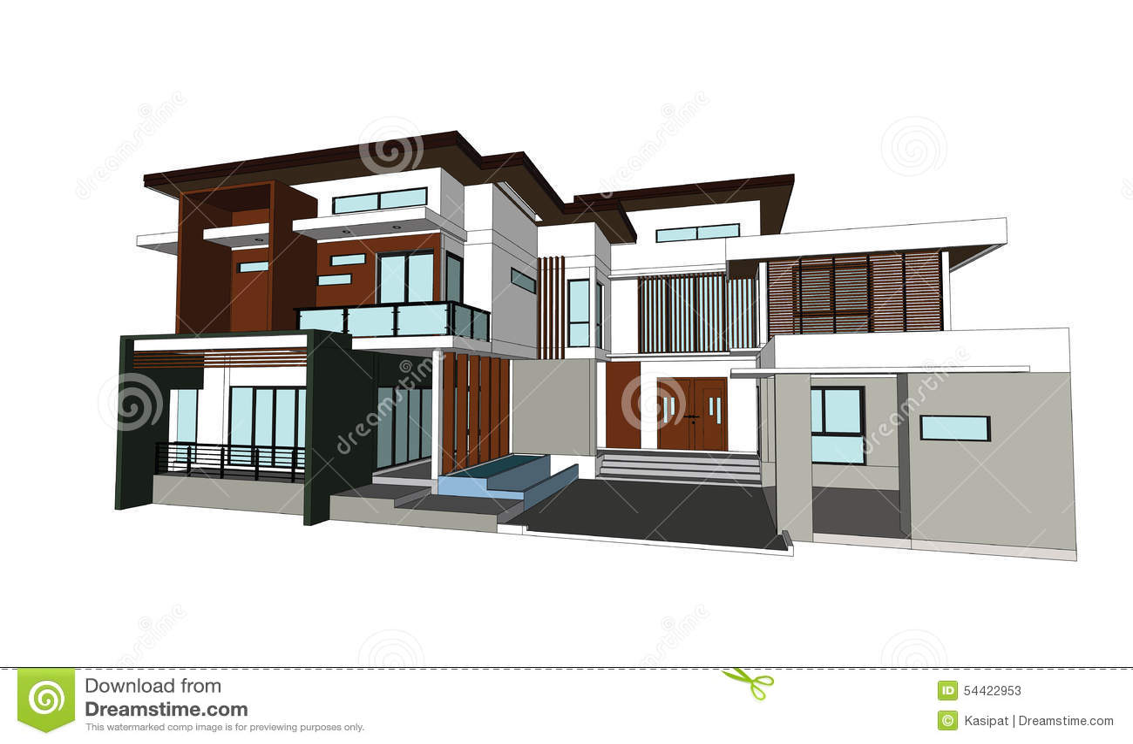 Modern House Drawings