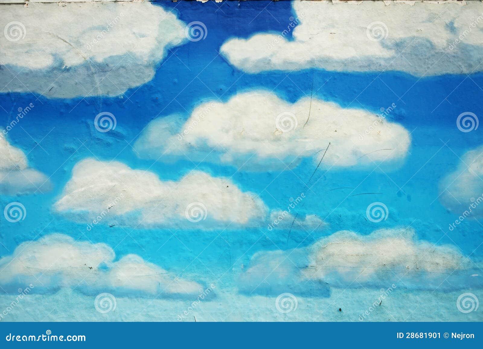 Как нарисовать облака своими руками