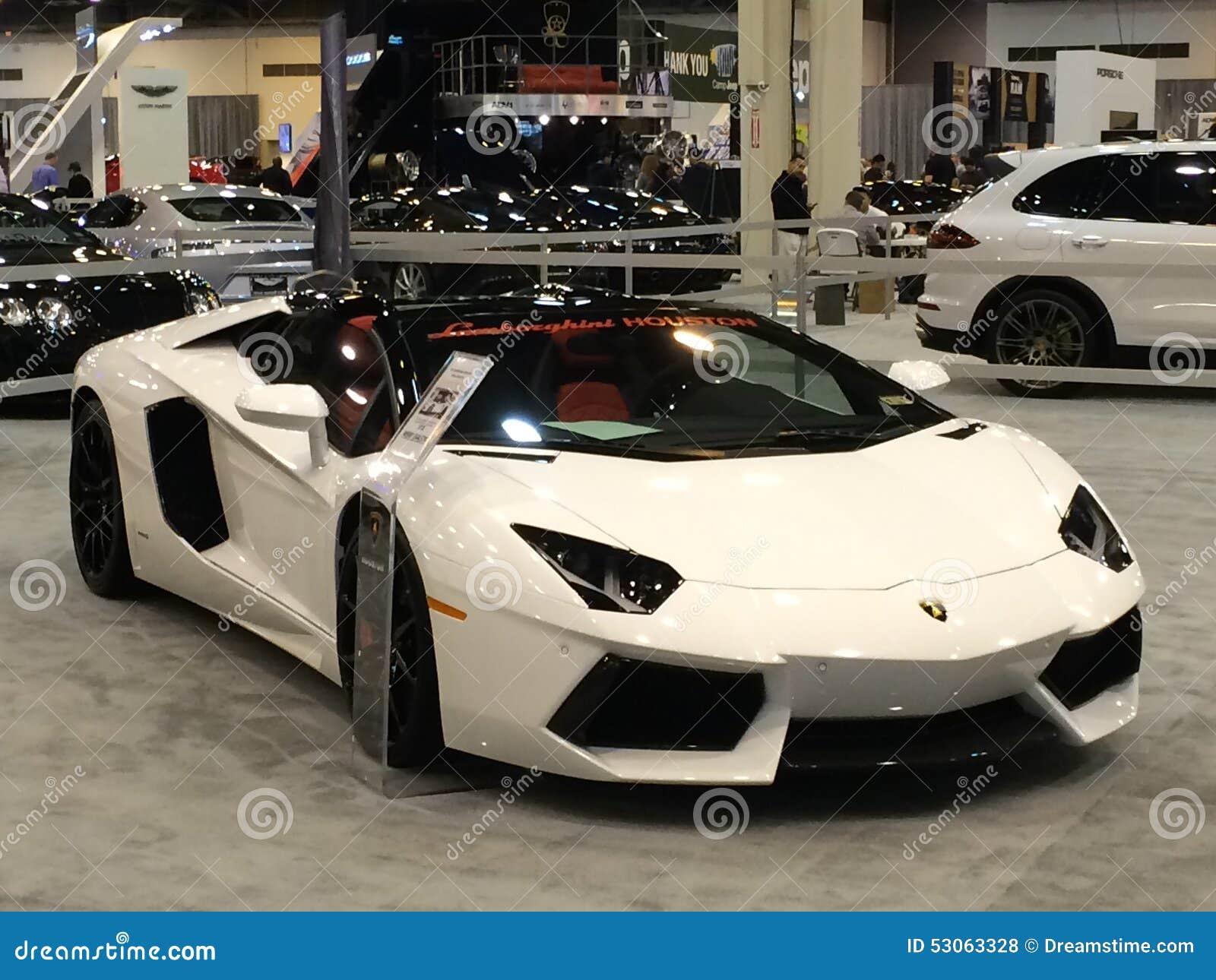 Dream Car Lamborghini Aventador Editorial Stock Photo Image Of