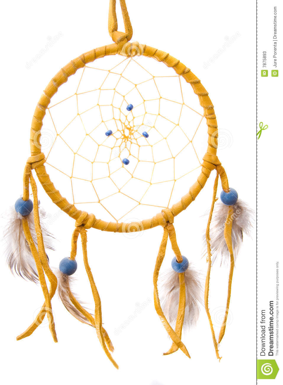 Dream catcher stock image image of shield feathers for What do dreamcatchers do