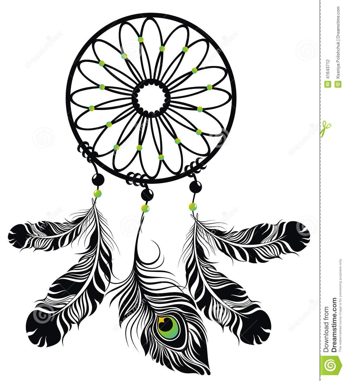 Dream catcher stock vector illustration of symbol fantasy 41643712 dream catcher buycottarizona