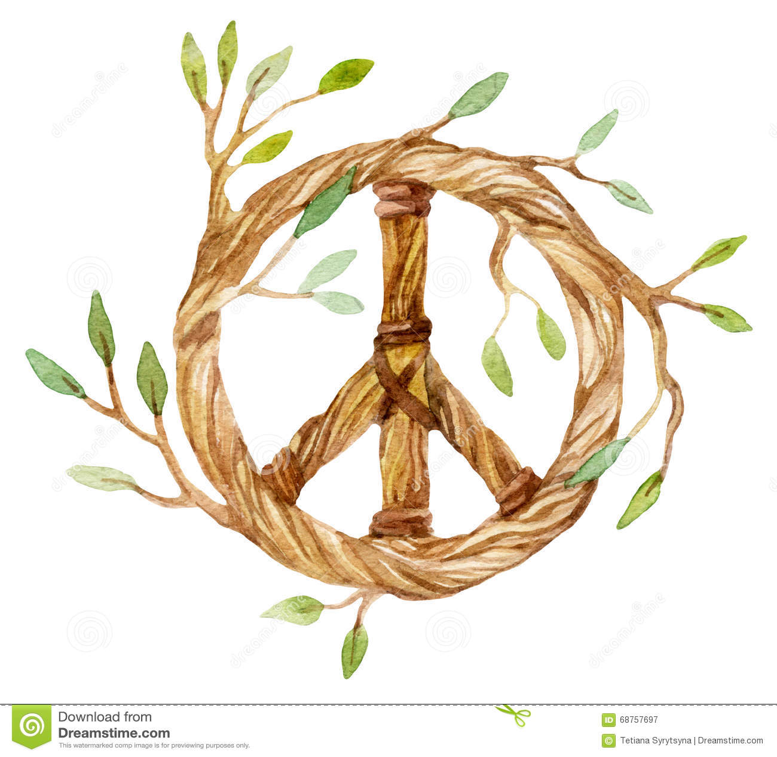 Dream Catcher Symbol Of Peace Stock Illustration Illustration Of