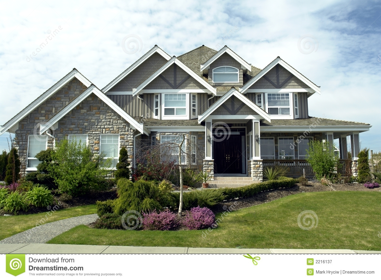 Dream Home Stock Image Image Of Habitat Dwelling