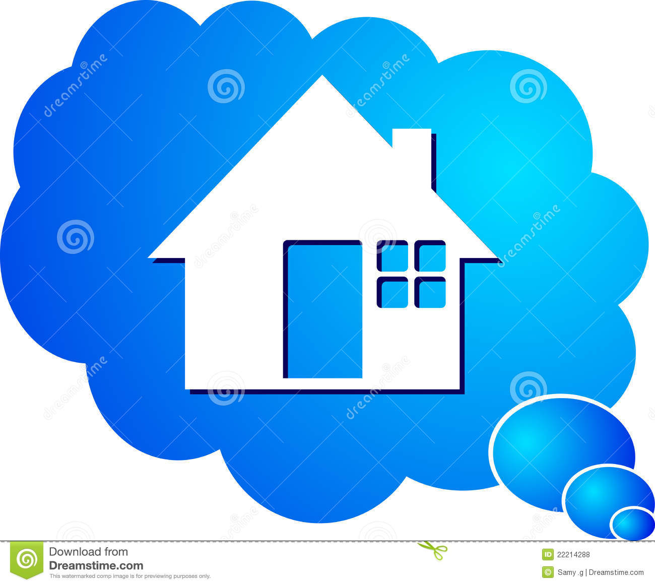 Dream Home Royalty Free Stock Photos Image 22214288
