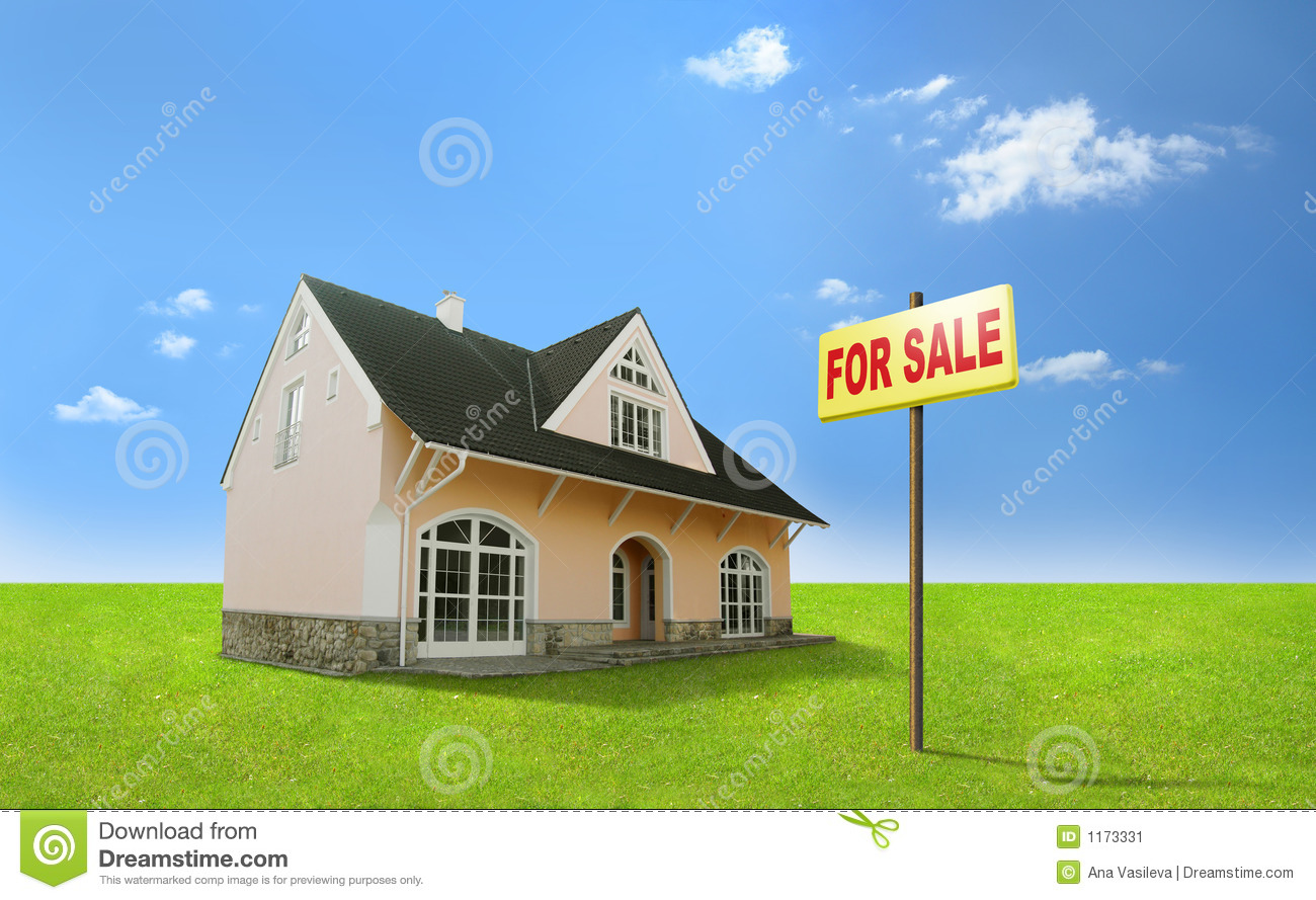 Dream home for sale real estate realty realtor stock for Dream house for sale