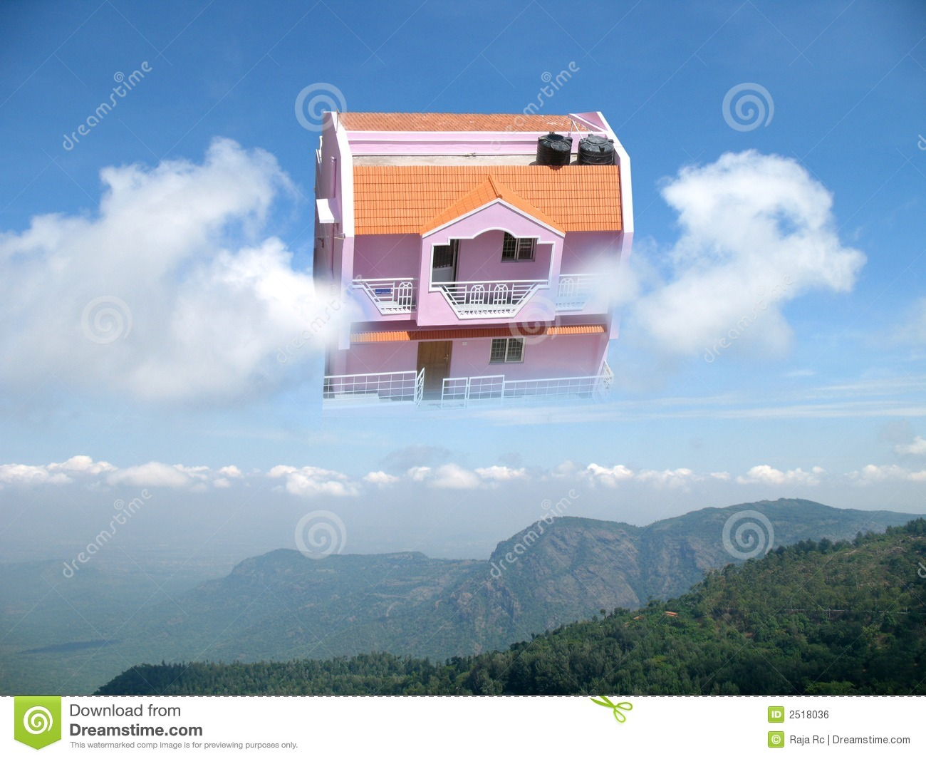 Dream House Royalty Free Stock Image Image 2518036