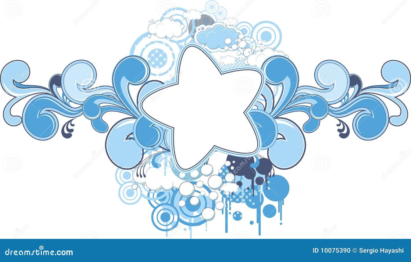 Dream Star Frame Stock Photo Image 10075390