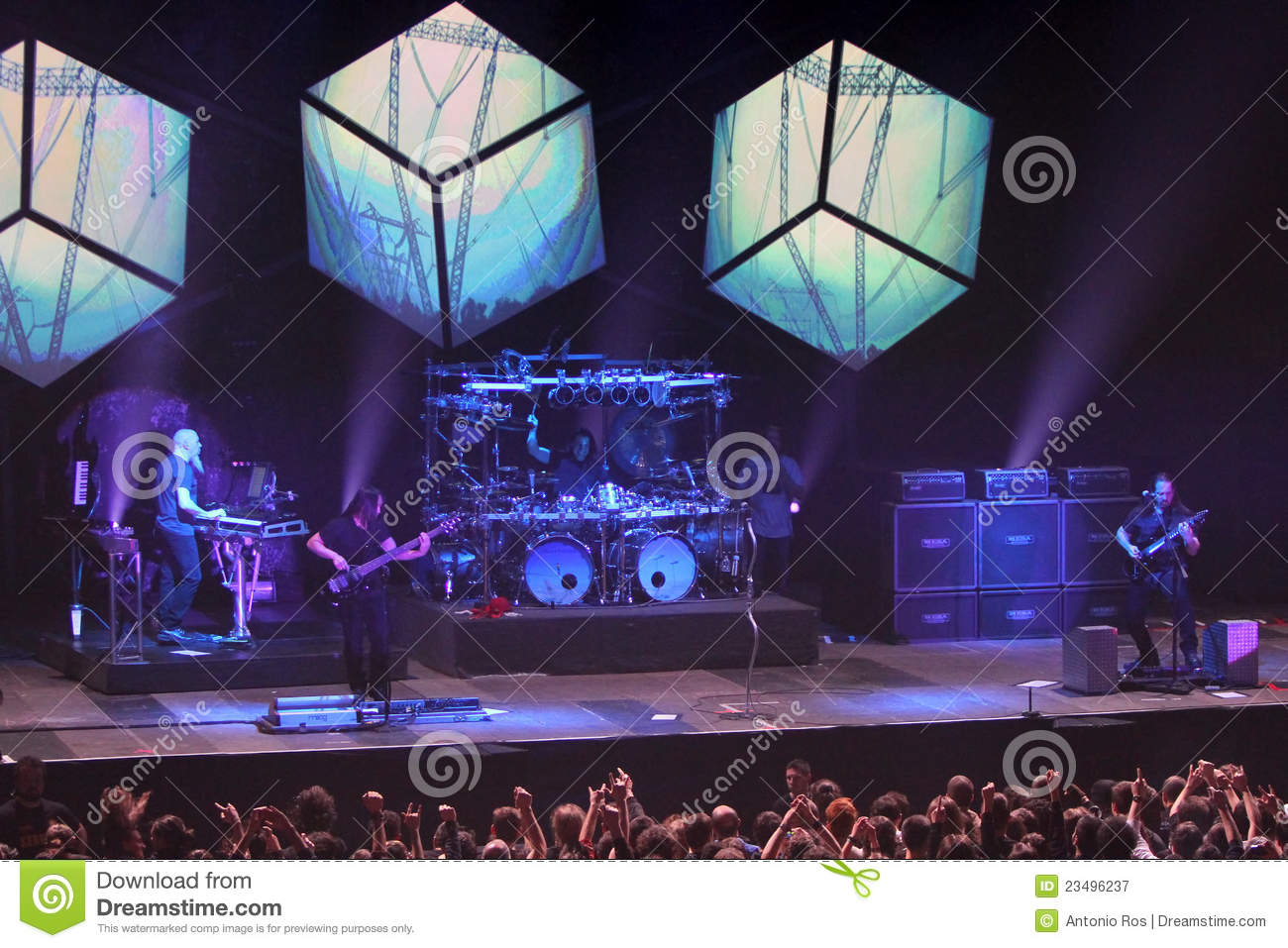 dream theater live editorial photography image of rock 23496237. Black Bedroom Furniture Sets. Home Design Ideas