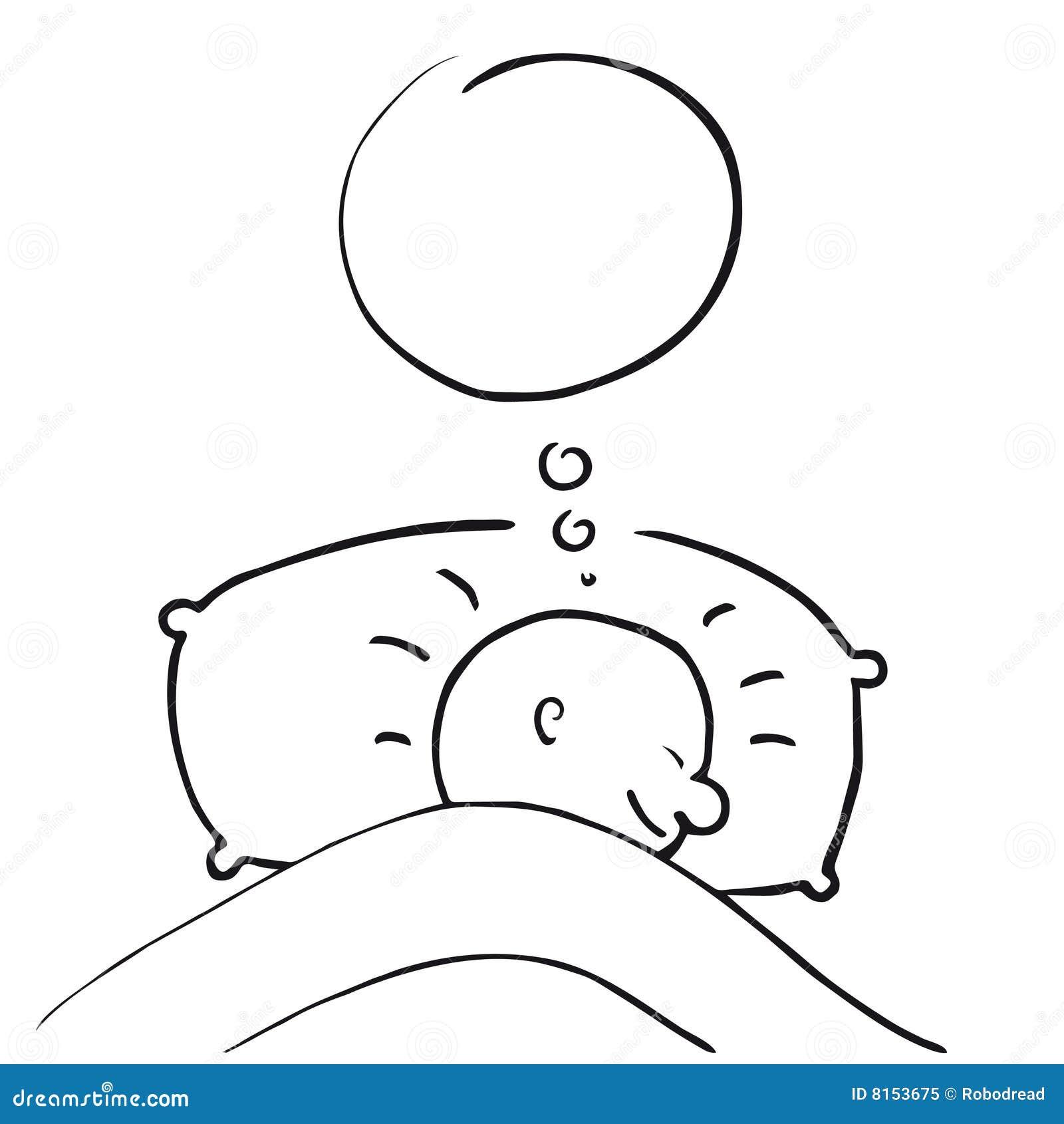 Dream Vector Stock Vector Illustration Of Time Rest
