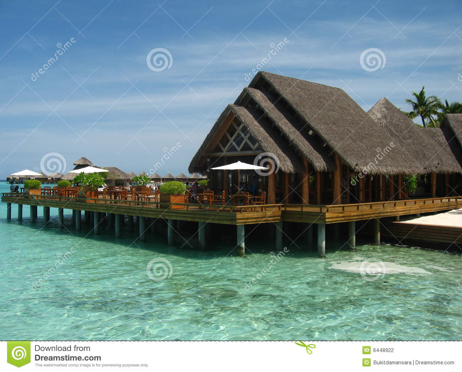 Dreaming Beach House In Maldives
