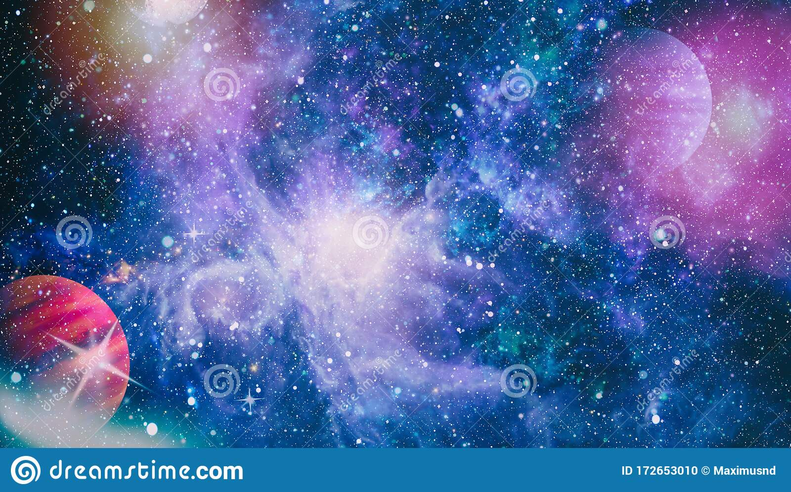 Dreamscape Galaxy Deep Space Science Fiction Fantasy In High Resolution Ideal For Wallpaper Elements Of This Image Furnished By Stock Photo Image Of Creation Astrology 172653010